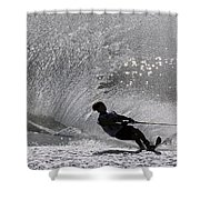Waterskiing 1 Shower Curtain