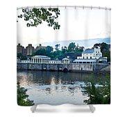 Waterworks View Shower Curtain