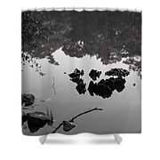 Watery Reflections Shower Curtain