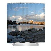 Watson Lake 5  Shower Curtain