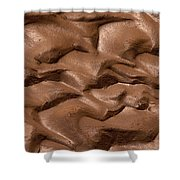 Wave Of Mud Shower Curtain
