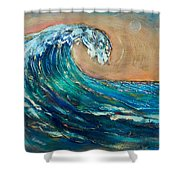 Wave To The South Shower Curtain