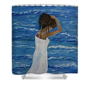 Waves Of Beauty Shower Curtain