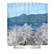 Waves Of Joy Shower Curtain