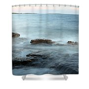 Waves On The Coast Shower Curtain