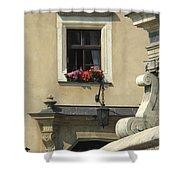 Wawel Flower Box And Achitecture Shower Curtain