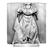Wax Doll, C1820 Shower Curtain
