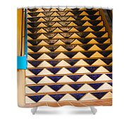 Way To The Blue Corn Shower Curtain