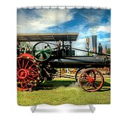 We Are Driving It Now Shower Curtain