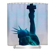 We Got Your Back Shower Curtain