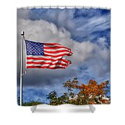 We Remember Shower Curtain