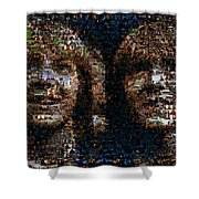 Weasley Twins Mosaic Shower Curtain