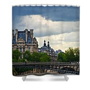 Weather In Paris Shower Curtain