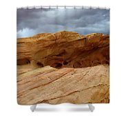 Weathered Sandstone Shower Curtain