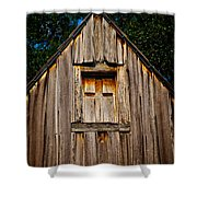 Weathered Structure Shower Curtain