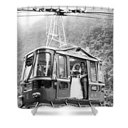 Wedding: Cable Car, 1970 Shower Curtain