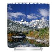 Wedge Pond Shower Curtain
