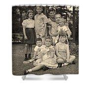 Weiner Cousins C 1953 Shower Curtain