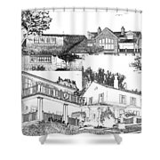 Welcome Home 10 Shower Curtain
