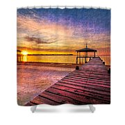 Welcome The Morning Shower Curtain