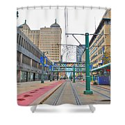 Welcome To Dt Buffalo Shower Curtain