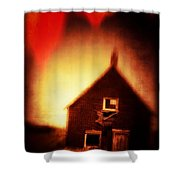 Welcome To Hell House Shower Curtain