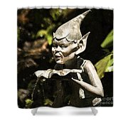 Well Gremlin Shower Curtain