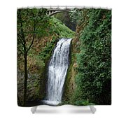 Well Placed Waterfall Shower Curtain