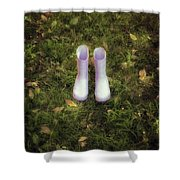 Wellingtons Shower Curtain
