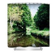 Welsh Canal Dream Shower Curtain