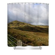 Welsh Landscape I Shower Curtain