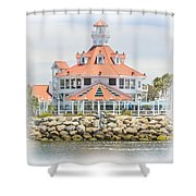 West Coast Charm Shower Curtain