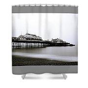 Brighton West Pier Shower Curtain