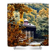 West Virginia Morn Shower Curtain