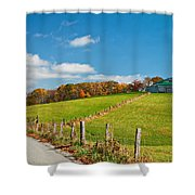 West Virginia Wandering 3 Shower Curtain