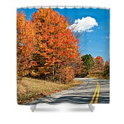West Virginia Wandering 4 Shower Curtain