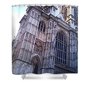 Westminster Abbey London Shower Curtain