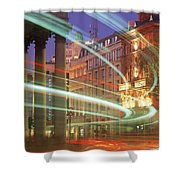 Westmoreland Street, Dublin, Co Dublin Shower Curtain
