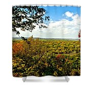 Weston Bend Fall Colors Shower Curtain