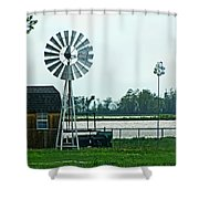 Wet And Wendy Shower Curtain