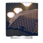 Wet Umbrella Shower Curtain