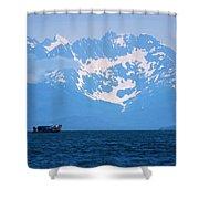 Whale Watchers Shower Curtain