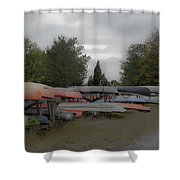 What Do Canoes Dream Of Shower Curtain