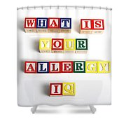 What Is Your Allergy Iq Shower Curtain