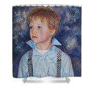 Blue Boy Shower Curtain