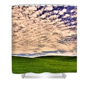 Wheat Field In The Palouse Shower Curtain