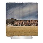 Wheatfield Zion National Park Shower Curtain