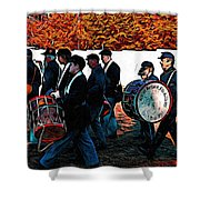 When Johnny Comes Marching Home Shower Curtain
