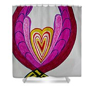 When Love Blooms.. Shower Curtain