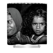 When Mother Smiles Shower Curtain